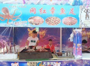朱口镇美食节,吃货们有口福了
