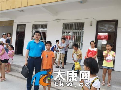 重庆大学教授王卫永回家乡太康作励志报告