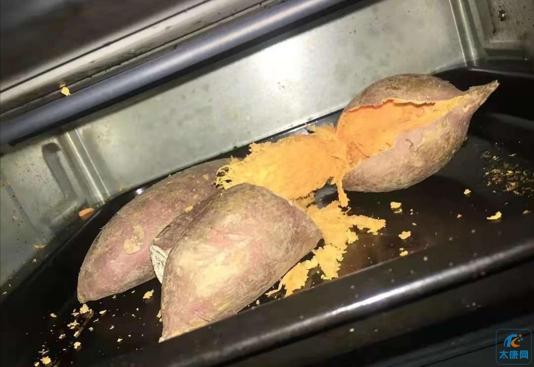 烤红薯。。。但是它吐了